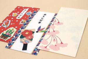 Picture of Japanese New Year money envelopes